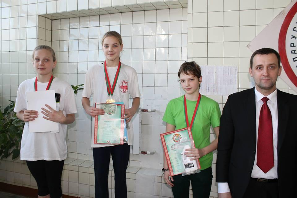 Победители девочки